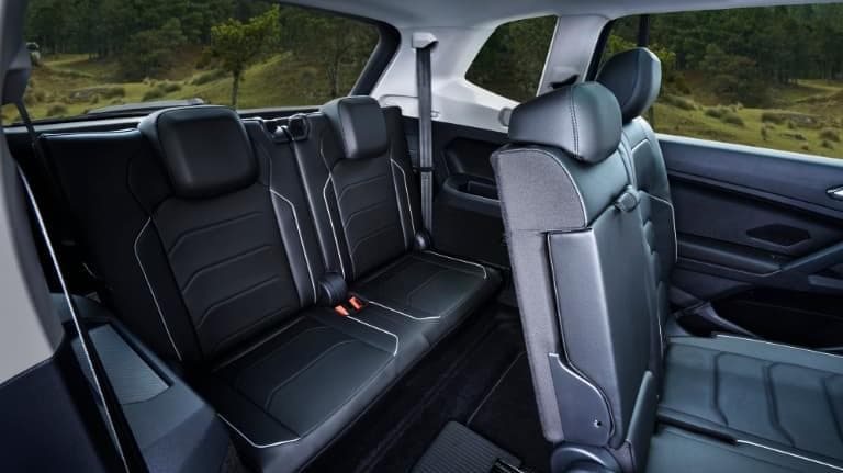 2019 VW Tiguan Leather Interior Seating