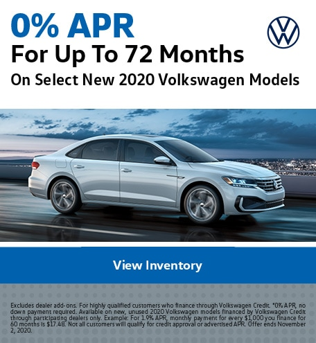 0% APR For Up To 72 Months October