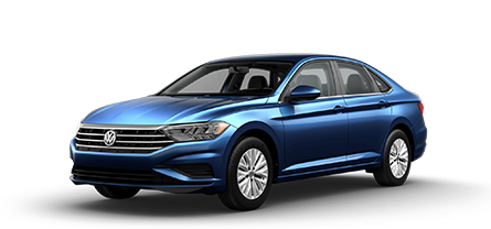 2019 Blue VW Jetta S