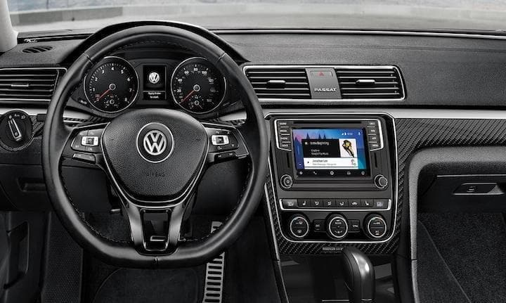 2019 VW Passat Interior Dashboard