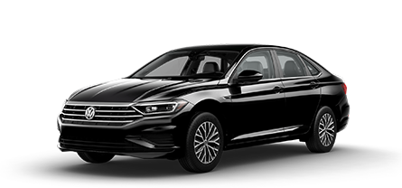 2019 Black VW Jetta SEL