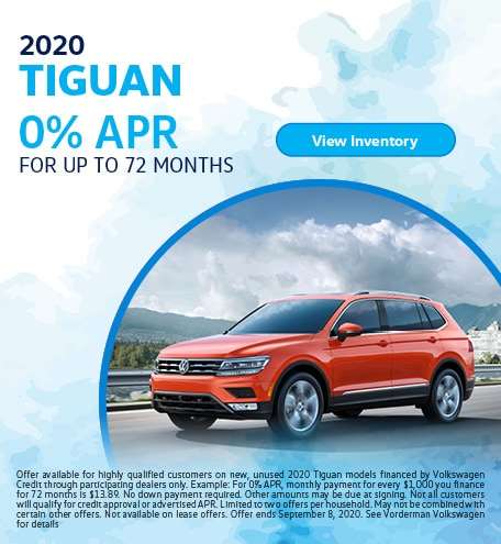 2020 Tiguan August