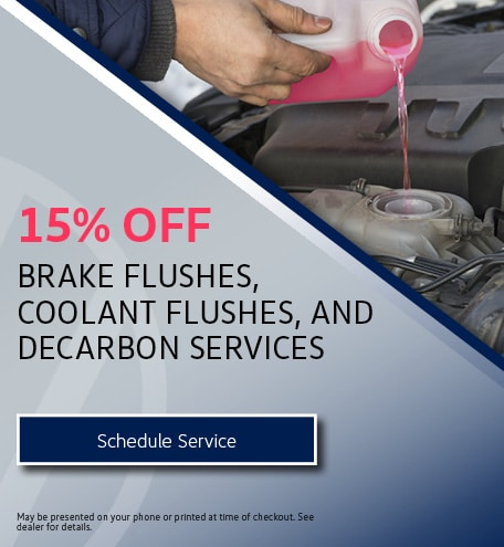 Brake Flushes, Coolant Flushes, and Decarbon Services