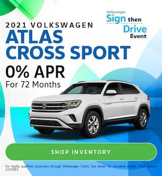 2021 Volkswagen Atlas Cross Sport - April