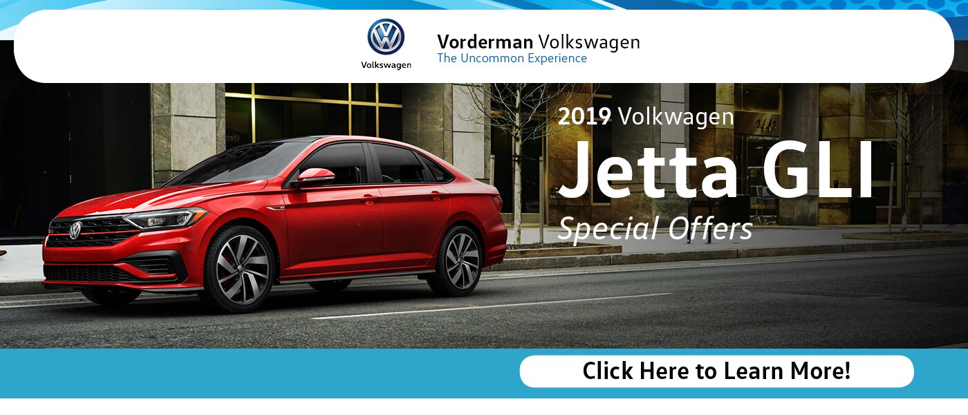 2019 VW Jetta GLI Special Offers