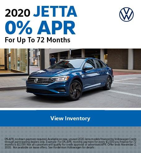 2020 Jetta October