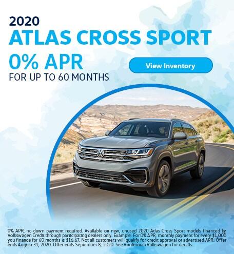 2020 Atlas Cross Sport August