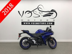 2018 YAMAHA YZF-R3 ABS  - No Payments For 1 Year**