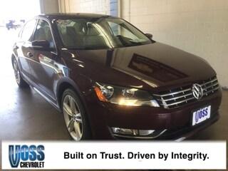 2013 Volkswagen Passat 2.0L TDI SEL Premium Sedan