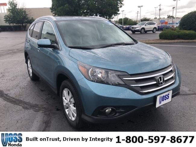 Used 2014 Honda CR-V EX-L SUV For Sale in Tipp City, OH