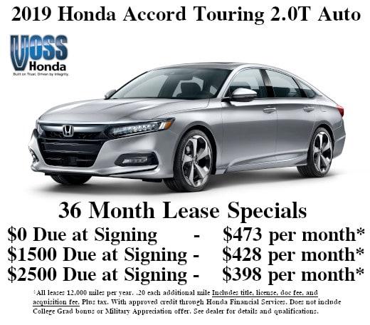 Honda Ridgeline Lease >> New Honda Lease Specials Deals In Tipp City Oh Near Dayton