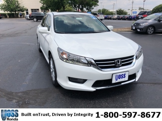 Used 2014 Honda Accord Touring Sedan For Sale in Tipp City, OH