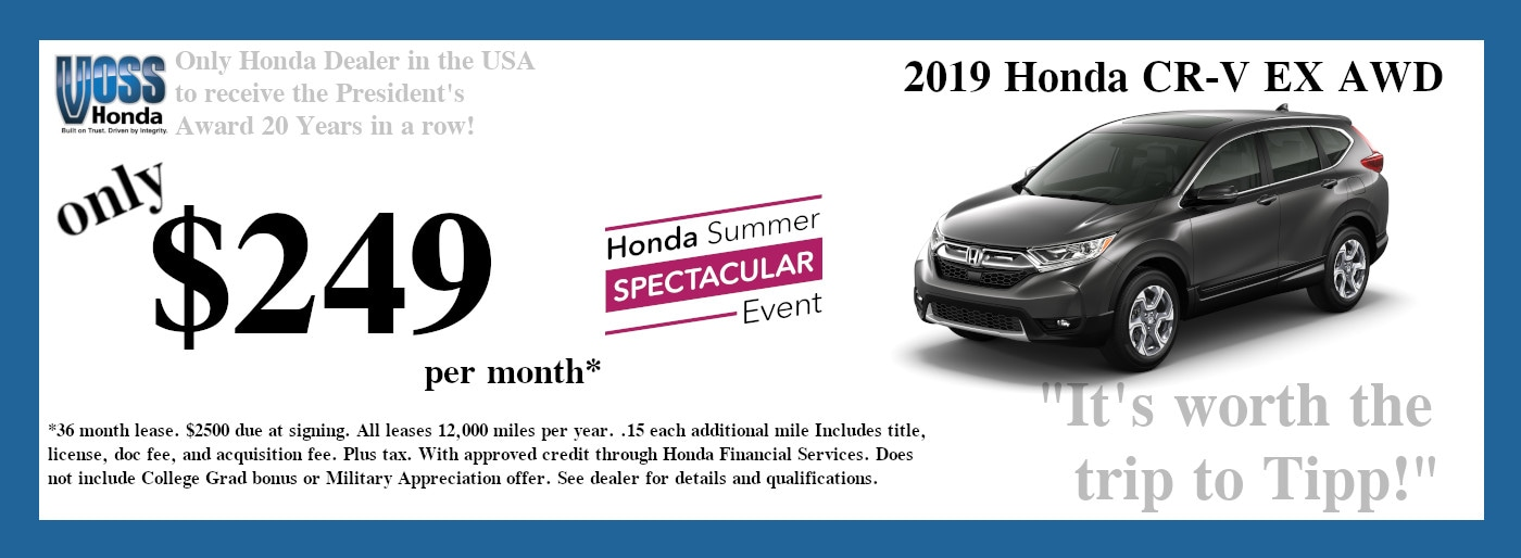 Honda Dealers Dayton Ohio >> Voss Honda Honda Dealer In Tipp City Oh Near Dayton Fairborn