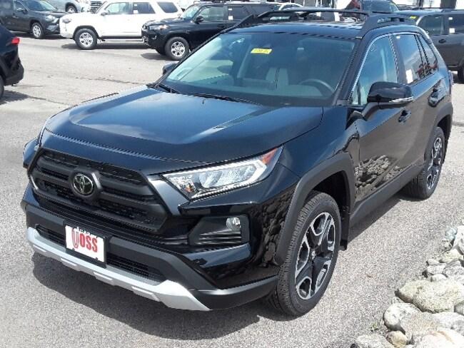 Toyota Dealership Dayton Ohio >> New 2019 Toyota Rav4 Adventure Black Suv For Sale Or Lease In