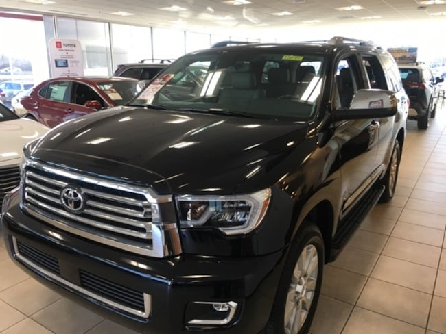 Toyota Dealership Dayton Ohio >> New 2019 Toyota Sequoia Platinum Black Suv For Sale Or Lease In