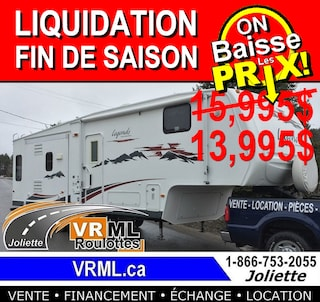 2007 LEGENDS 29 MK3 *LIQUIDATION AU MEILLEUR PRIX chez VRML*