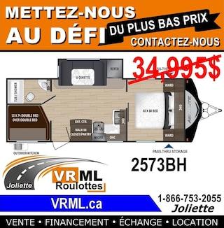 2018 AEROLITE 2573BH *** Obtenez LE MEILLEUR PRIX Chez VRML ***