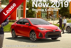 Toyota Corolla Lease Deal