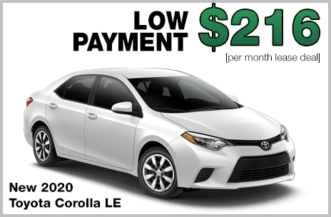 Corolla Lease Deal