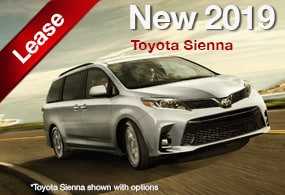 Toyota Sienna Lease Deal