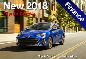 Toyota Corolla Finance Deal