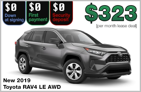 Toyota Lease Deals >> Zero Down Toyota Lease Deals 802 Toyota Of Vermont