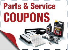 Service and Parts Coupons