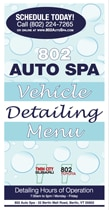 Auto Spa Vehicle Detailing