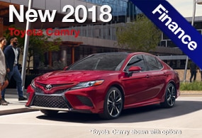 Toyota Camry Finance Deal