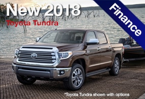 toyota tundra finance deal