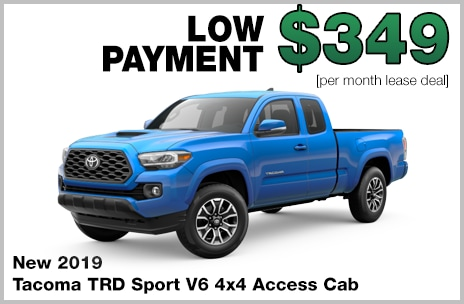 Tacoma Lease Deal