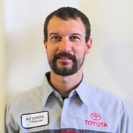 Mike McKnight Toyota Service Technician