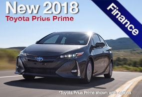 Toyota Prius Prime Finance Deal