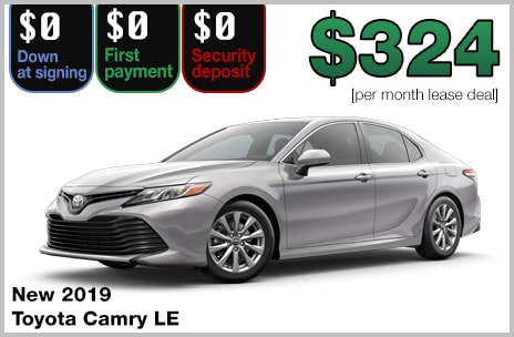 Camry Lease Deal