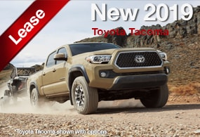 Toyota Tacoma Lease Deal