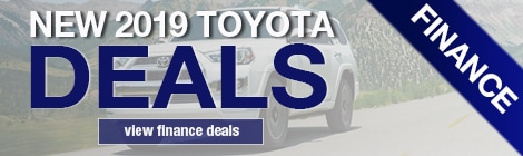 Toyota Finance Deals