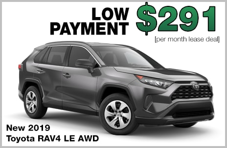 RAV4 Lease Deal