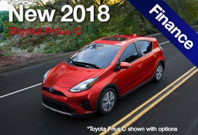 toyota prius c finance deal