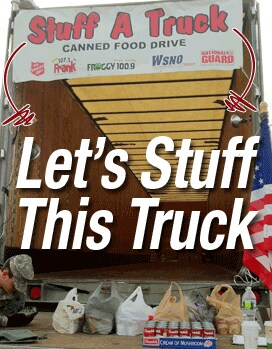 Stuff-A-Truck Food and Funds Drive