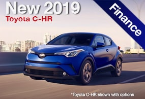Toyota Finance Deals >> New Toyota C Hr Deals