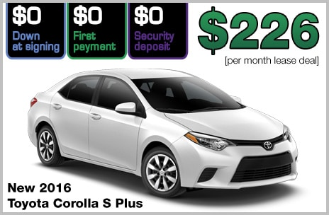 No Money Down Lease Deals >> Zero Down Toyota Lease Deals | 802 Toyota of Vermont