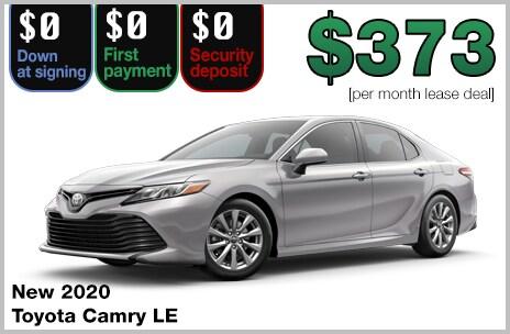 0 Down Car >> Zero Down Toyota Lease Deals 802 Toyota Of Vermont