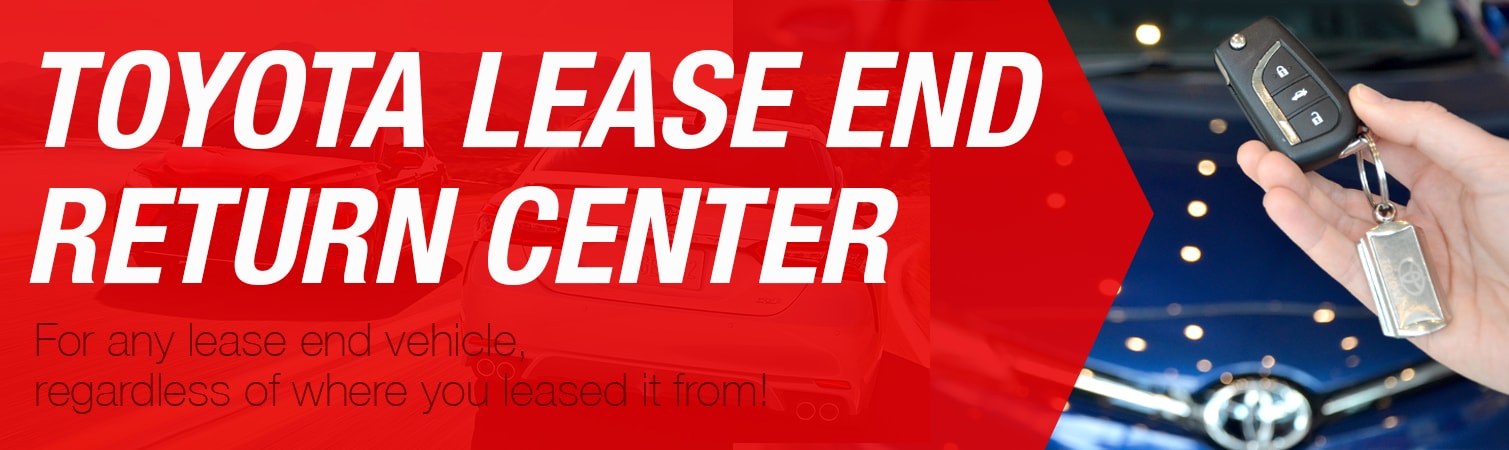 Toyota Lease End Return Center