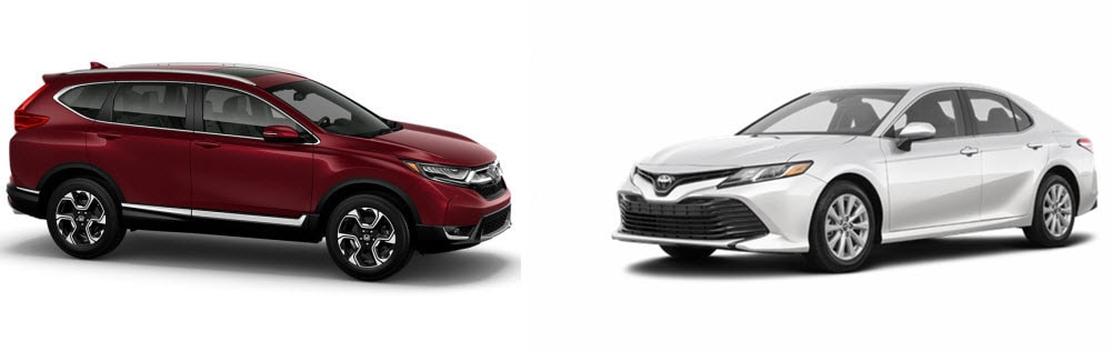 Honda CR-V versus Toyota Camry
