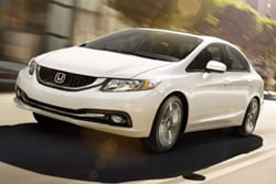 compare 2014 honda civic