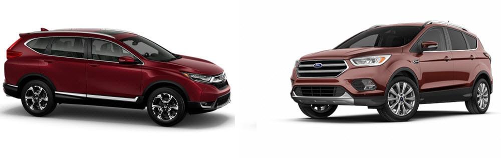 Honda CR-V versus Ford Escape