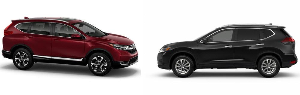 Honda CR-V versus Nissan Rogue