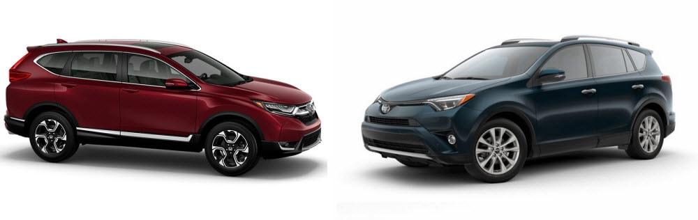 Honda CR-V versus Toyota RAV4