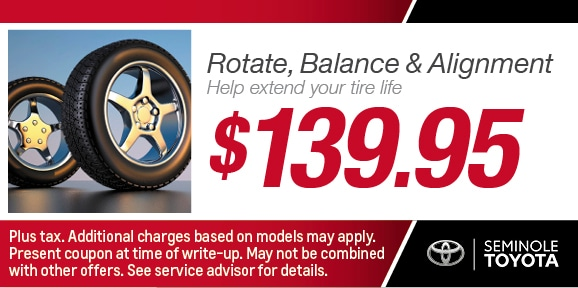 Rotate & Balance Coupon, Automotive Service serving Orlando