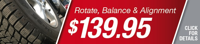 Rotate and Balance Tires Special, Orlando